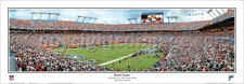Miami Dolphins Playoff Game Sun Life Stadium 31 Yard Line Panoramic Poster 1036