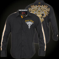 Rebel Spirit Shirt LSW151748 Black