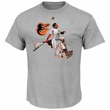 Adam Jones Baltimore Orioles The Bigger Prize T-shirty By Majestic