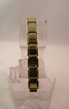 Luxury Yellow Gold Stainless Steel  Watch Band stretchable