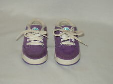 BLUES CLUES toddler girl's purple suede SNEAKERS  Size 5 dated 2000