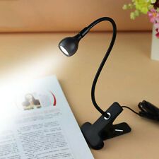 USB Flexible Reading LED Light Clip-on Beside Bed USB Table Desk Lamp Latest