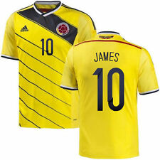 COLOMBIA ADIDAS 100% ORIGINAL JAMES Yellow Jersey World Cup Soccer - ALL SIZES