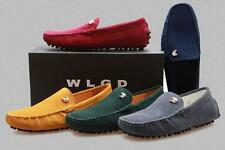 Stylish Mens casual Moccasin slip on Loafer Driving suede boats Shoes plus size