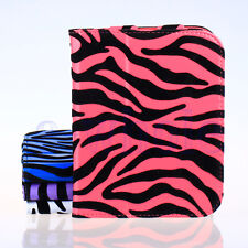 Felt Zebra Style Case Cover Stand for Barnes & Noble NOOK 2nd Simple Touch EW