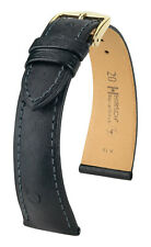 ORGINAL WATCH STRAP HIRSCH MASSAI OSTRICH 18 MM, 19 MM, 20 MM US