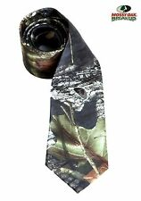Camouflage Necktie Windsor Mossy Oak Camo Regular Dress Long Tie Hankie Wedding