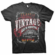 Vintage Aged To Perfection 1990 - STURGIS DESIGN - 26th Birthday Gift T-shirt