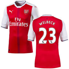 Puma Danny Welbeck Arsenal Red 2016 Home Authentic Jersey