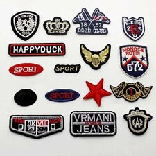 Punk Retro Pattern Embroidered Iron On Applique Patch Crafts DIY for cloth jeans