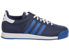 NEW MENS ADIDAS ORIGINALS SAMOA CASUAL SHOES LEATHER TRAINERS COLLEGIATE NAVY