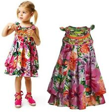 Boutique Catimini Flower Bow Tie Dress Years 3 4 5 6 8 10 SUMMER SALE!