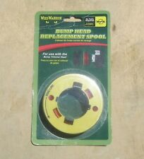 "Weed Warrior Yard Gear Universal Trimmer Bump Head Replacement Spool .080"" Line"