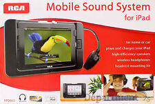 RCA RPD663  Wireless Mobile Sound System For iPad