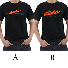 Aloha Airlines Hawaii Logo T-Shirt Size S M L XL 2XL 3XL Cotton 100%