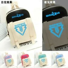 New arrival bigbang backpack noctilucence PU schoolbag korea backpack