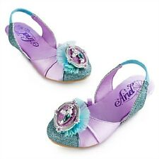 NWT NEW DISNEY STORE ARIEL LITTLE MERMAID COSTUME SHOES SPARKLE FALL 2014
