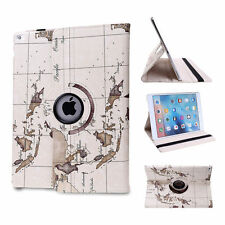 New 360 Rotating Case Smart Cover Stand For Apple ipad 2/3/4 mini 1/2/3/4 Air 2