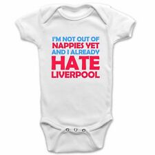I Hate Liverpool Baby Grow - Man United Baby Suit