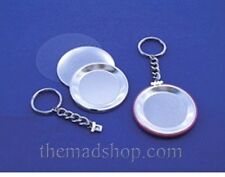 """500 pcs. 2-1/4"""" inch Standard Size Keychain Set for Button Makers & Machines"""