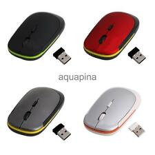 2.4GHz Ultrathin USB 2.0 Wireless Optical Mouse Mice for PC/Laptop/Destop