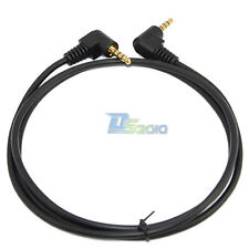 3Ft 6Ft 1M 1.8M 3.5mm angle stereo Mini AV plug 4pole 4 conductor Audio Cable