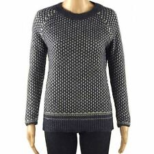 Ex Dorothy Perkins Patterned Jumper Ladies Knitwear Knitted Top Size 6 8 12 NEW