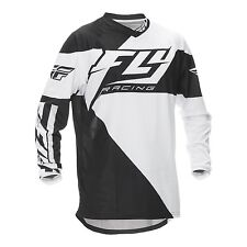 2016 Fly Racing F-16 YOUTH MX Motocross Jersey - Black / White