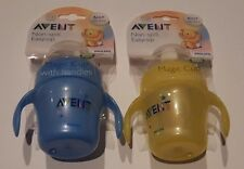 Philips Avent Magic Cup with Handles Non-Spill Easy Sit BPA FREE 7 OZ