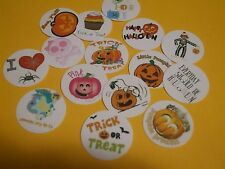 Pre Cut One Inch HALLOWEEN MIX Bottle Cap Images! FREE SHIP