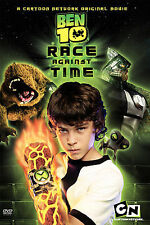 Ben 10 Race Against Time (DVD, 2008) New as is.