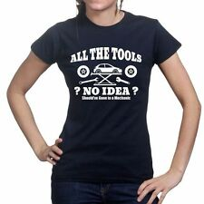 All The Tools Kit Car Racing Modified Turbo Super Charger Ladies Womens T shirt