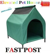 Elevated Trampoline Hammock Cat Dog Puppy Pet Bed House Kennel Removable Large