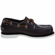 TIMBERLAND 2 EYE BOAT SHOE TODDLER SIZE 7 US NEW IN BOX BLACK
