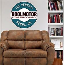 Koolmotor Cities Service Gas Oil Repro WALL GRAPHIC  DECAL MAN CAVE BAR ROOM