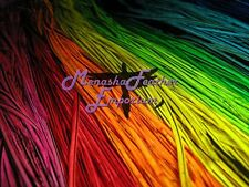 WHOLESALE Feather hair Extensions salon pack Grizzly Whiting Saddle  BADGER