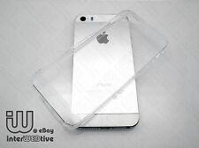 Ultra Thin Clear Gel TPU Soft Cover Skin Case Accessories For Apple iPhone 5 5S