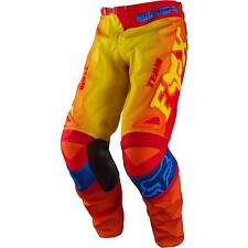 Fox MX Gear 180 Imperial Red/Yellow Motocross Dirtbike Off Road Adult Pants