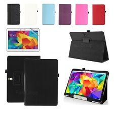 """UK New Smart Leather Stand Case Cover For Samsung Galaxy Tab 3 10.1"""" P5200/P5210"""