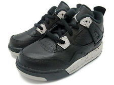Air Jordan Retro 4 IV BT 707432-003 Black Tech Grey Oreo Nike Baby TD Kids
