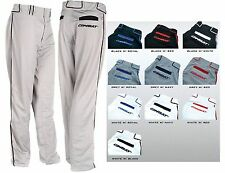 NEW Combat Adult Piped & Trimmed Stock Open Bottom Pro Baseball / Softball Pants