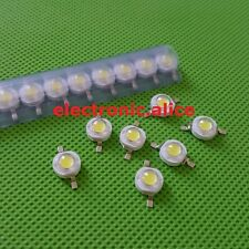10 50 100 1000pcs 1W 3W High Power Cool White 6500k LED Beads Lamp Chip DIY