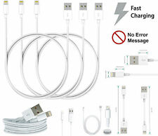 1M 2M Charging USB Plug Data Cable Charger Compatible For Various iPhone iPad's