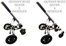 New Quinny Buzz Frame Chassis Handle & Wheels 3 WHEELER  4 WHEELER SILVER BRONZE