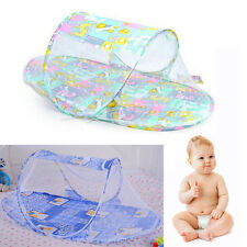 Baby Infants Mosquito Mosquito Net Polyester Mesh Crib Netting Portable Folding
