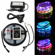 5M 5050 150LED RGB Dream Color 6803 IC LED Strip Light 133 Change RF Remote IP67