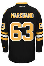 Brad Marchand Boston Bruins NHL Third Reebok Premier Hockey Jersey