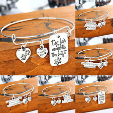 Family Fashion Women Bangle Bracelet Charm Jewelry Daughter Sister Friends Gifts