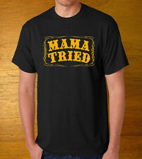 Mama Tried T-Shirt Merle Haggard Country Legends Commemorative Legend Tribute 2