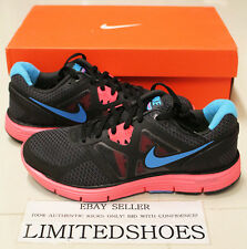 WMNS NIKE LUNARGLIDE+ 3 ANTHRACITE BLUE PINK 454315-006 WOMENS city grey red vii
